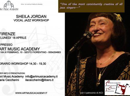 Sheila Jordan Voval Jazz Workshop