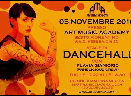 STAGE DI DANCEHALL CON FLAVIA GIANIORIO