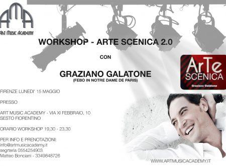 Workshop di Arte Scenica 2.0 con Graziano Galatone