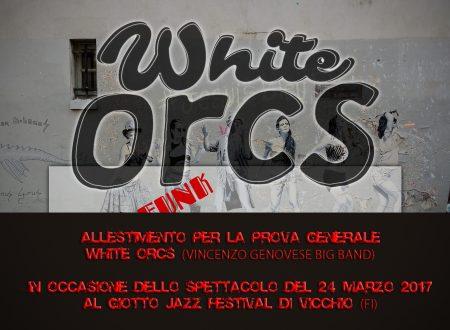 Allestimento prova generale degli White Orcs (Vincenzo Genovese Band)