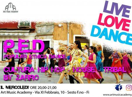 P.E.D. Popular Etnics Dance – un corso per giovani e adulti per stare in forma attraverso la danza