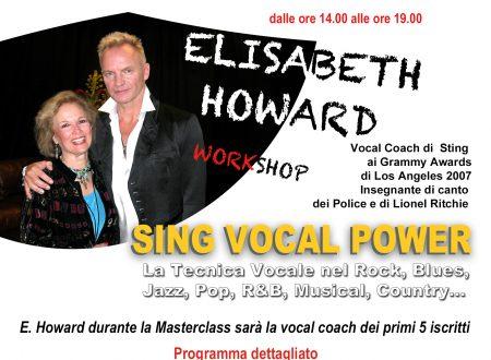 Workshop con Elisabeth Howard